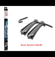 Honda Jazz 2008.10 - 2015.12 első ablaktörlő lapát készlet, méretpontos, Bosch 3397007570 AR654S