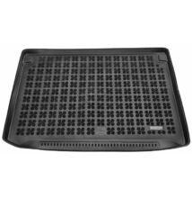 Citroen C4 Picasso 2013-2018 és C4 Spacetourer 2018-tól méretpontos, felső (a mélyíthető padló felső részére) fekete gumi csomagtértálca, szőnyeg 5 és 7 személyes típusokhoz (3. üléssor lehajtva) teljes értékű pótkerékkel, 230144