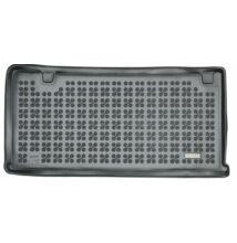 FORD TOURNEO CUSTOM  L1 2013 - tól méretpontos fekete gumi csomagtértálca, rövid változat 8, 9 személyes, TITANIUM felszereltség, kiegészítő fűtés nélküli járművekhez, 230467