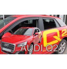 Audi Q2 5 ajtós első légterelő 2016-tól, 2 db-os készlet 10256