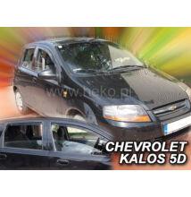 Daewoo Kalos/Chevrolet Aveo 5 ajtós első+hátsó légterelő 2004-2008, 4 db-os készlet  10504