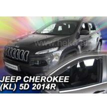 Jeep Cherokee (KL alvázkód) 5 ajtós első ablak légterelő/szélterelő 2014-től, 2 db-os készlet 19124