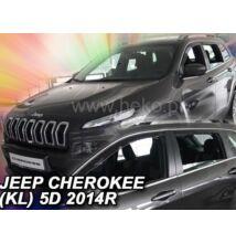 Jeep Cherokee (KL alvázkód) 5 ajtós első+hátsó légterelő 2014-től, 4 db-os szett 19125