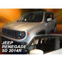 Jeep Renegade légterelő 5 ajtós első légterelő/szélterelő 2014-től, 2 db-os készlet  19126
