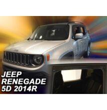 Jeep Renegade légterelő 5 ajtós első+hátsó légterelő/szélterelő 2014-től, 4 db-os készlet  19127