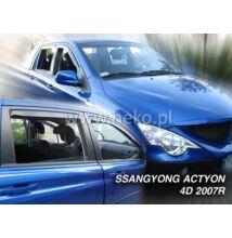 Ssangyong Actyon Sports 4 ajtós első+hátsó légterelő 2007-től, 4 db-os készlet  28907