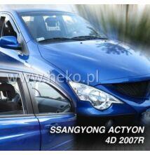 Ssangyong Actyon/Actyon Sports 4 és 5 ajtós első légterelő 2007-től, 2 db-os készlet  28906