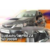 SUBARU Impreza (4 és 5 ajtós) első+hátsó ajtókra légterelő 2007-2011, 4 db-os készlet  28509