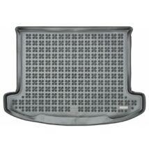 Kia Carens méretpontos gumi csomagtértálca fekete színben, 2013-tól 5 üléses változathoz, 230740