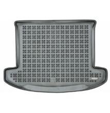 Kia Carens méretpontos gumi csomagtértálca fekete színben, 2013-tól 7 üléses változathoz (lehajtott harmadik üléssorral), 230741