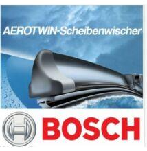 Audi  A4 [8E2; B6], 2003.11. - 2004.12.-ig  első ablaktörlő lapát készlet, méretpontos, gyári csatlakozós, Bosch 3397118933 A933S
