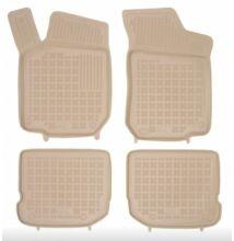 Seat Leon I 1999-2005 méretpontos bézs gumiszőnyeg szett 200201B (202003B)