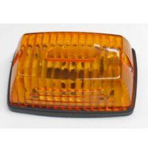 Utánfutó helyzetjelző lámpa sárga szögletes