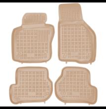 Seat Leon 2005-2013 méretpontos bézs gumiszőnyeg szett 200206B