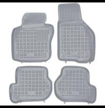 Seat Leon 2005-2013 méretpontos szürke gumiszőnyeg szett 200206S