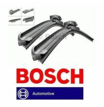 VW Volkswagen  Polo [9N1], 2002.06. - 2005.05-ig első ablaktörlő lapát készlet, méretpontos, gyári csatlakozós, Bosch 3397007460 AM460S