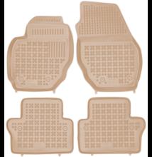 Volvo S80 2006-2016, Volvo V70 III 2007-2016 és Volvo XC70 II 2007-2016 méretpontos bézs gumiszőnyeg szett 200406B