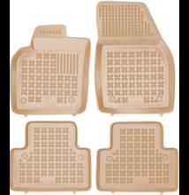 VOLVO S40 II 2004-2012 méretpontos bézs gumiszőnyeg szett 200409B