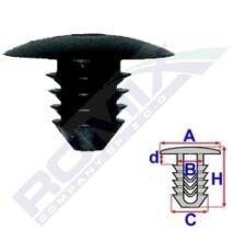 Seat Cordoba, Ibiza, Inca, Toledo, Skoda Superb, VW Bora, Caddy, Golf, Jetta, Passat, Polo, T4, Vento rögzítő patent A11888
