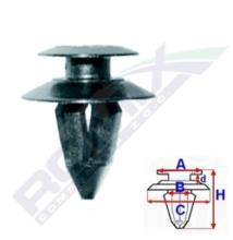 Seat Alhambra, Skoda Octavia, VW Sharan,  T4 rögzítő patent C10007
