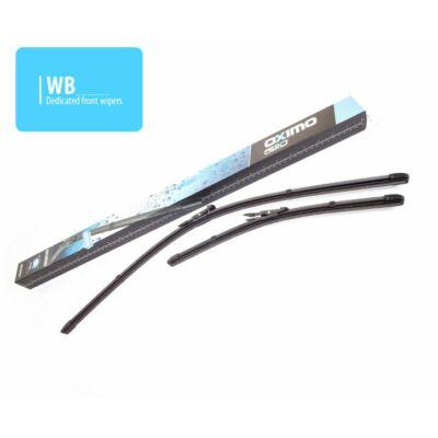 BMW 3 (E90) 09.2009-05.2012-ig első ablaktörlő lapát készlet, méretpontos, gyári csatlakozós, Oximo WB400525