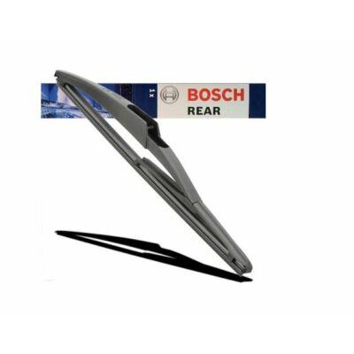 DS 7 Crossback  2017-től hátsó ablaktörlő lapát, méretpontos gyári csatlakozós Bosch 3397004990 H304