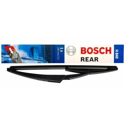 BMW I3 (I01) 2013.08-tól hátsó ablaktörlő lapát, méretpontos, gyári csatlakozós Bosch H840 3397004802