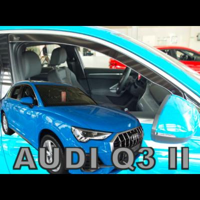 Audi Q3 2018-tól első légtreleő, szélterelő, 2 db-os készlet 10263