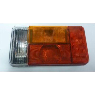 Utánfutó lámpa bal oldali tolatós, komplett Radex 5001-12