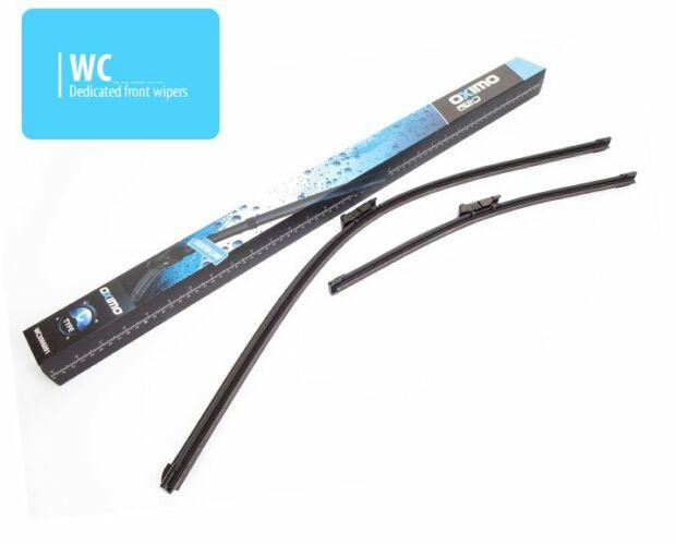 Skoda Octavia III 2012-től első ablaktörlő lapát készlet, méretpontos, gyári csatlakozós, Oximo WC4005501